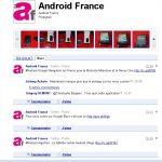 La page Android-France sur Buzz