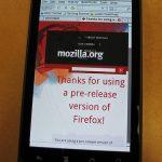 Firefox – La version Android pour le fin de l'année