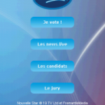 Nouvelle Star – L'application Android