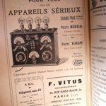 Une pub pour des mobiles parue en 1923