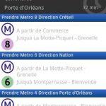 MyWay – Une application pour le métro parisien