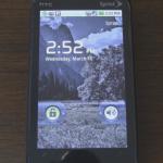 Android 2.1 sur un HTC Touch pro2