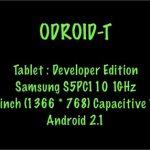 Odroid-T – Odroid prépare une tablette tactile sous Android 2.1
