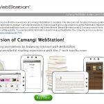 Webstation – Nouvelle version du firmware de la tablette 7 pouces