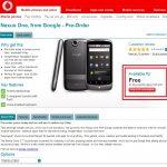 Nexus One – Disponible en France à partir de Mai