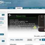 Nexus One – Disponible chez Qtek France