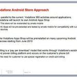 Vodafone va lancer son propre Android Market en Europe en juin