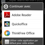Adobe Reader – Acrobat Reader disponible sur Android Market