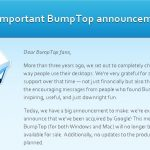 BumpTop – Google achète une technologie de bureau 3D