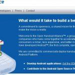 Open Handset Alliance – En fait c'est un mythe