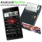 Pocket Verifier Professional – Système d'encaisememt de carte bancaire avec son terminal Android