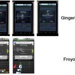 Android Gingerbread – Des images de la prochaine version d'Android ?