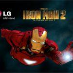 LG Ally – Le LG Aloha dans une pub Iron Man 2