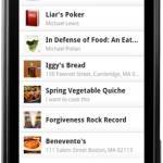 Springpad – L'application disponible sur Android