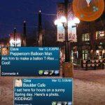 Tagwhat – Une application de réalité augmentée orientée réseau social