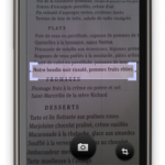 Google Goggles – La traduction automatique