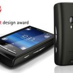 Xperia X10 Mini reçoit le Red Dot Design Award 2010
