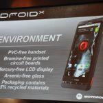 Motorola Droid X – Lancement officiel
