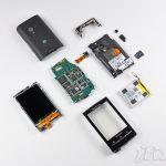 Le Sony Ericsson Xperia X10 Mini en pièces détachées