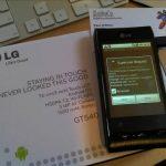 LG Optimus GT540 – Le root