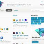 Mash-App – Le réseau social d'application de Sony Ericsson