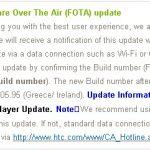 HTC Hero – Mise à jour Android 2.1 en cours en France