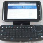 Logitech diNovo Mini – Un clavier physique pour le Dell Streak