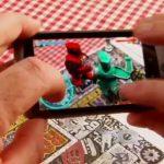 Le jeux en réseau de Qualcomm avec de la réalité augmentée
