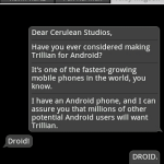 Trillian – La version Android en approche