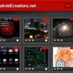 Android Creation – Un site qui référence les fonds d'écran animés