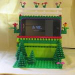 HTC Incredible – Le dock en Lego
