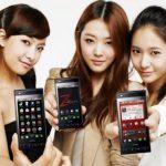 Le LG Optimus Z est officiellement sortie en Corée