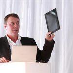 Toshiba montre son prototype SmartPad