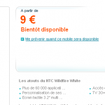 HTC WILDFIRE bientôt Chez Bouyguestelecom