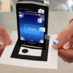 Sony Ericsson X10 Mini Pro – Campagne pub en réalité augmentée