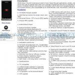 Motorola Droid 2 – les caractéristiques officielles