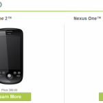 Nexus One – Le Google Phone devient officiellement un Dev Phone