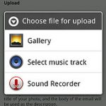 Flickr propose l'upload de photos via le navigateur Android