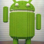 Bugdroid géant – La mascotte d'Android en Lego