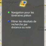 Google Navigation – Mise à jour disponible