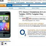 Le HTC DESIRE Z à 549 euro chez Amazon allemagne