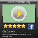 Portail mobile de courts métrages europeen SHORTZ arrive sous Android