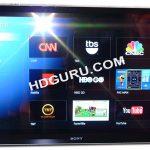 Google TV – Premières photos de la TV Sony
