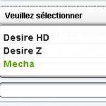 HTC Mecha – Fuite sur un probable nouveau terminal