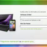 HTC Sense – Le portail est en ligne