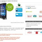 Le Sony Ericsson Xperia X10 HD sous Android 2.1 Eclair chez rue du commerce ?