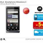 Le Motorola Milestone 2 en exclusivité chez Rue du Commerce