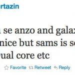 Samsung Galaxy S2, Nexus 2 – Deux coeurs ?