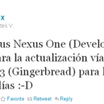 Nexus One – Android 2.3 Gingerbread en approche