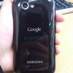 Google Nexus S (Nexus 2) en photo
